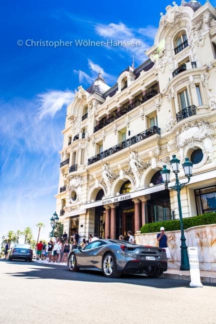 Hotel de Paris | Monaco | Ferrari 488 GTB
