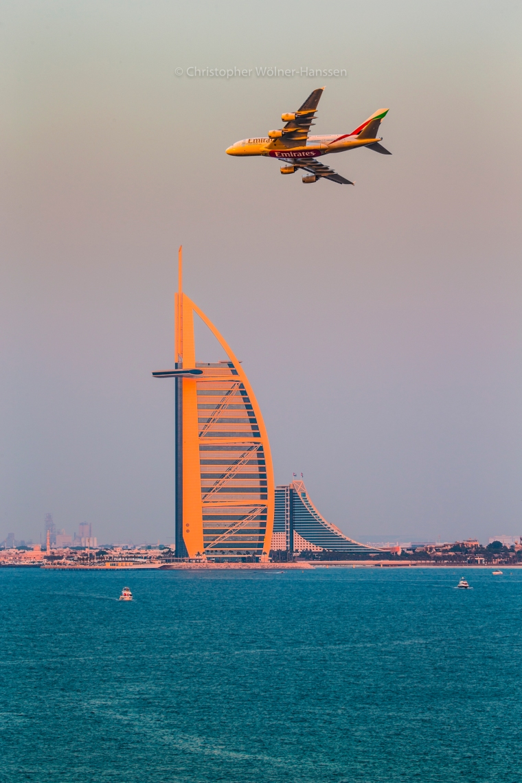 Emirates A380-